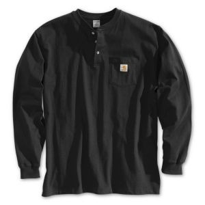 CARHARTT K128 Men's Long-Sleeve  Workwear Henley
