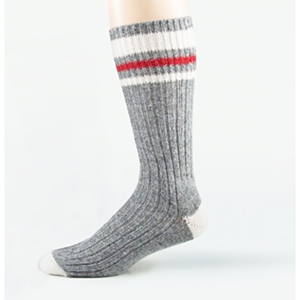 Stanfield's S9889 Thermal Sock Charcoal One Size PK/2