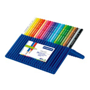 STAEDTLER 157-SB24 Ergosoft Coloured Pencils 24/Pack