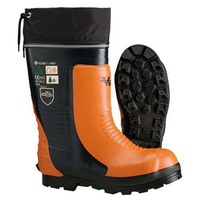 VIKING VW58 Steel Toed Chainsaw Lug Sole Rubber Boot