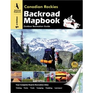 BACKROAD Mapbook: Canadian Rockies Book
