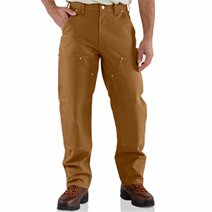 CARHARTT B01 Men's Double Front Work Dungaree Pant
