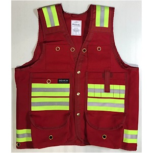 DEAKIN Cotton Canvas Reflective Cruiser Vest