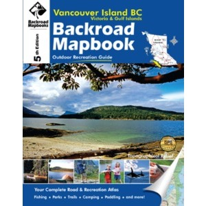 BACKROAD Mapbook: Vancouver Island, Victoria & Gulf Islands