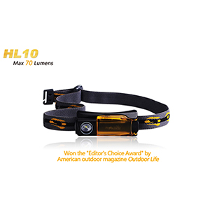 Fenix HL10 Headlamp / 70 Lumens