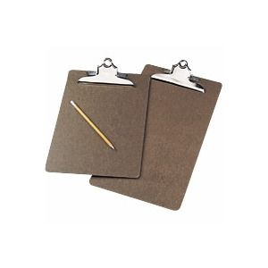 Masonite Letter Clipboard 9 x 12.5