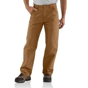 CARHARTT B11 Men's Washed Duck Work Dungaree  Pant