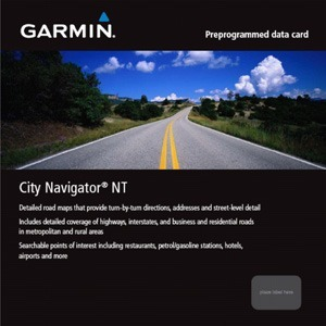 GARMIN 010-10680-50 microSD Card City Navigator Europe NT