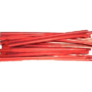"Plastic Coated H/D Steel Twist Ties 7"" /100"