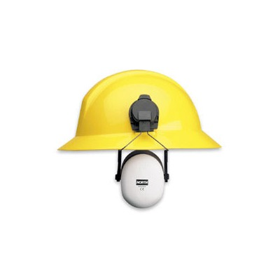 North EM7209 Earmuff (for use with Full Brim Hard Hat )