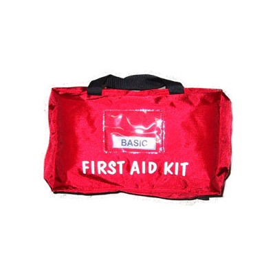 Basic First Aid Kit Soft Pack