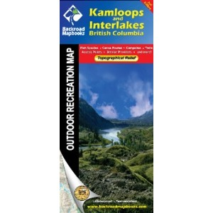 BACKROAD Map: Kamloops & Interlakes