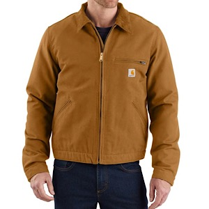 Carhartt 103828 Men's Washed Duck Detroit Jkt