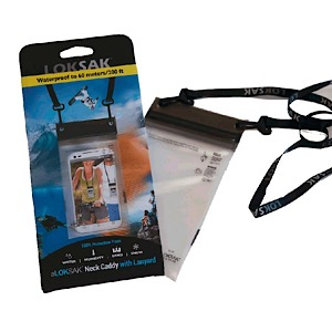 "ALOKSAK 3.9"" x 7"" Waterproof Storage Bag with Lanyard"