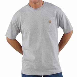 CARHARTT K87 Regular Men's Short-Sleeve Workwear  T-Shirt