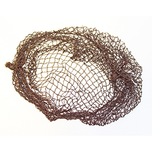Hair Net Heavy Mesh Brown Pack of 12
