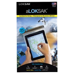 "ALOKSAK 8"" x 11"" Waterproof Storage Bags 2/pk"