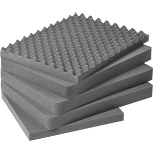 PELICAN 1611 5 Piece Replacement Foam Set for 1610