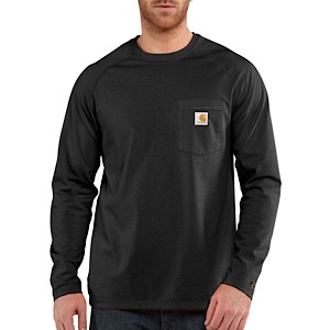 CARHARTT 100393 Force Cotton LS T Shirt