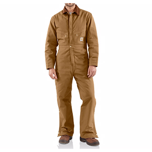 CARHARTT X01 Quilt-Lined Duck Coveralls