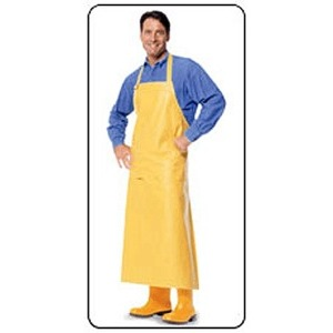 BOSS 05-0778YN Yellow Apron Cotton/Neoprene