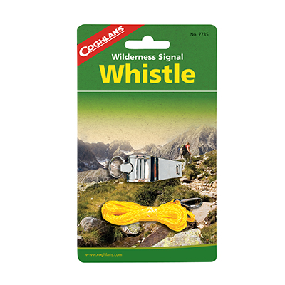 COGHLAN'S 7735 Nickle Plated Whistle